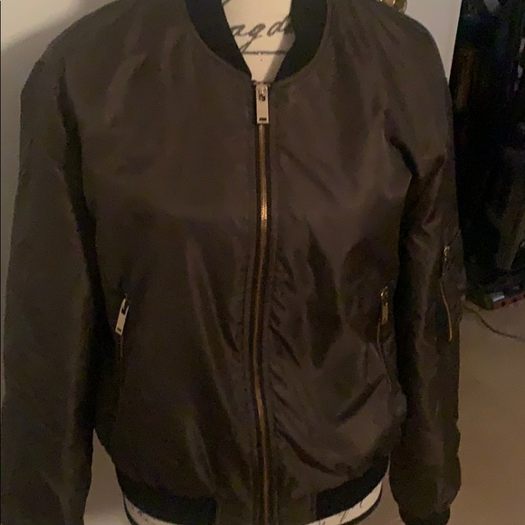 Zara basics bomber jacket